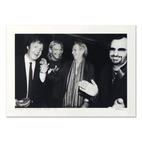 "Rob Shanahan, ""Paul McCartney, Joe Walsh, Keith Richards & Ringo Starr"" Hand Sig"