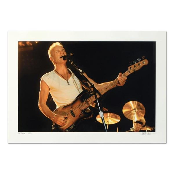 "Rob Shanahan, ""Sting"" Hand Signed Limited Edition Giclee with Certificate of Aut"