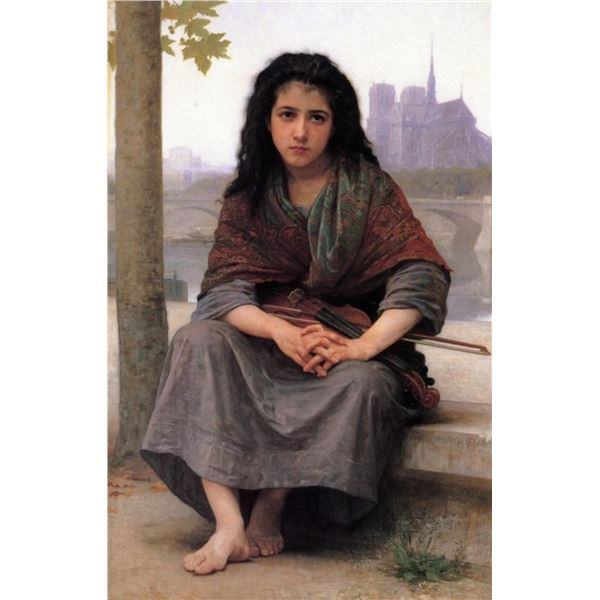 William Bouguereau - The Bohemian