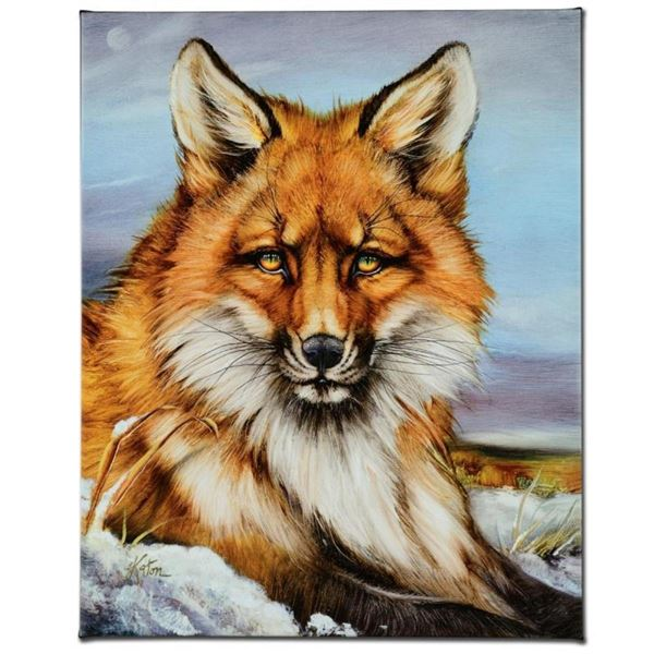 """Fantastic Fox"" Limited Edition Giclee on Canvas by Martin Katon, Numbered and H"