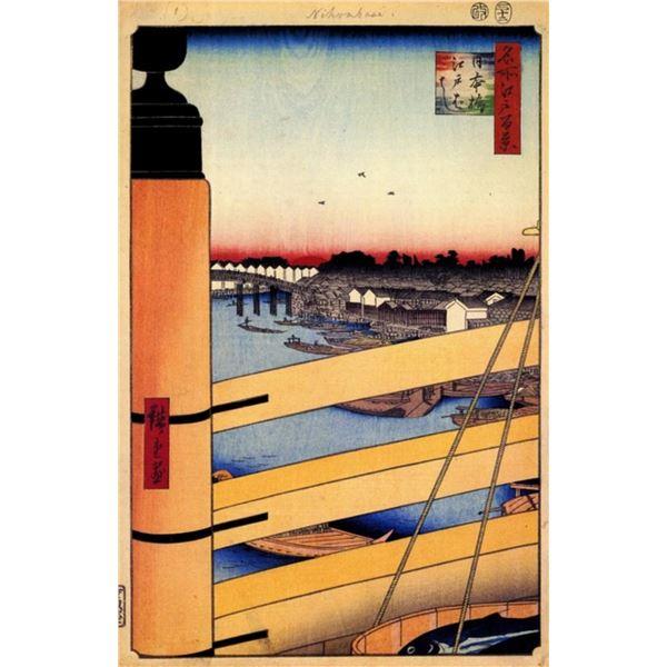 Hiroshige  - Nihonbashi Bridge