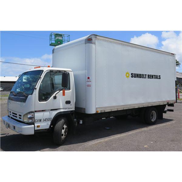 2006 GMC Box Truck with Lift Gate, Lic. 752HDR, Starts & Runs, Needs Repair (See Video)