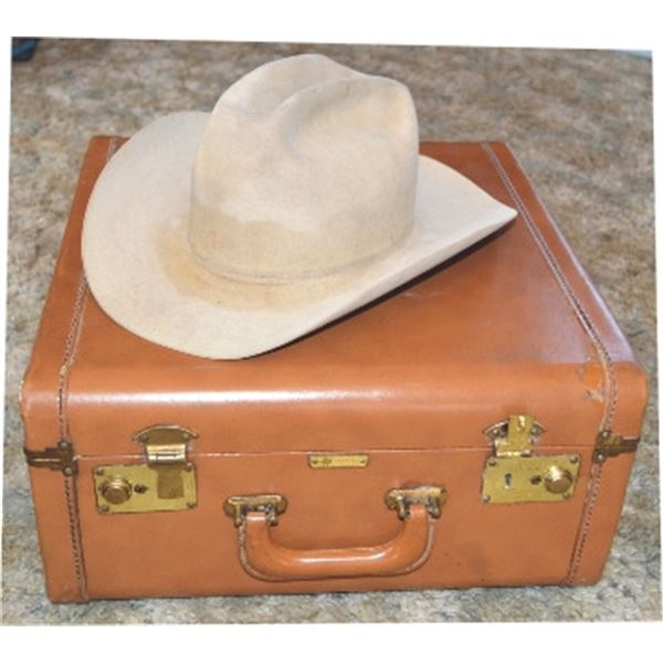 Beaver 100X hat & Stetson leather presentation box