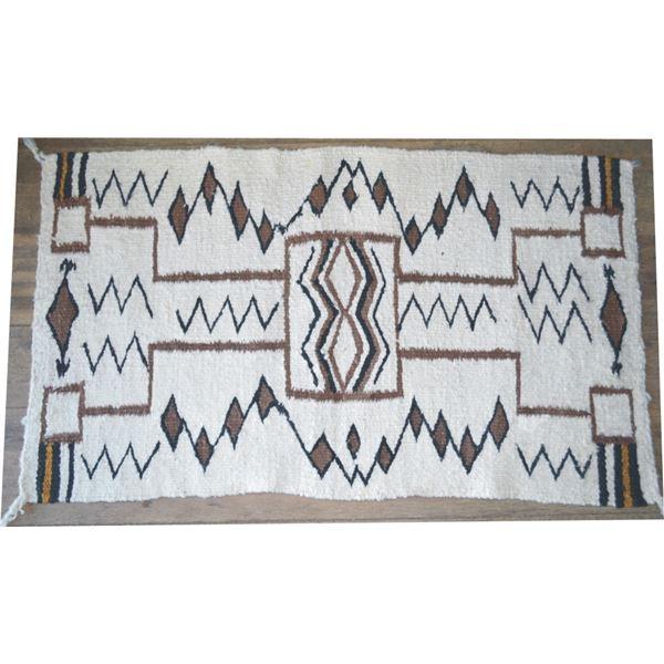 "21"" x 37"" Navajo rug"