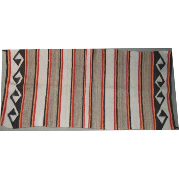 Navajo pound rug in good condition