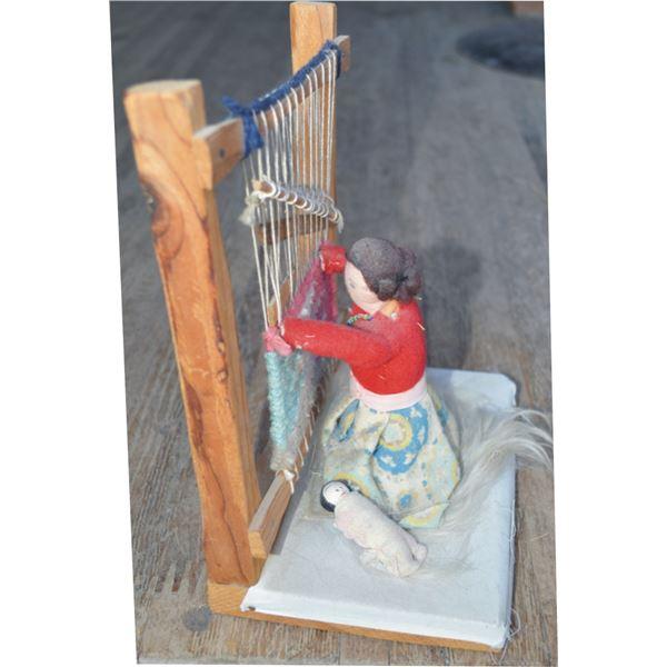 Navajo weaver sampler