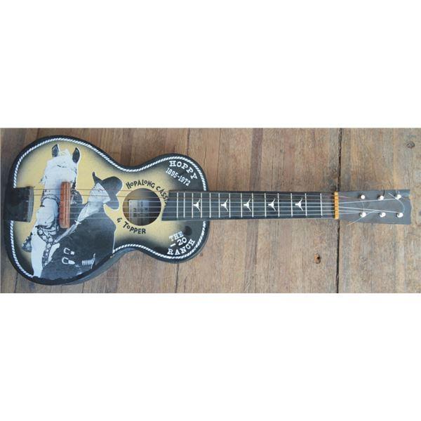 Hoppalong Cassidy childs size guitar