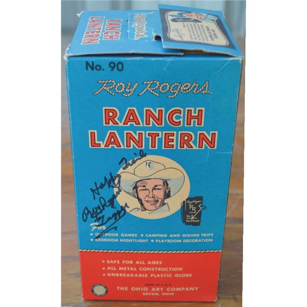 Roy Rogers new in the box Ranch Lantern