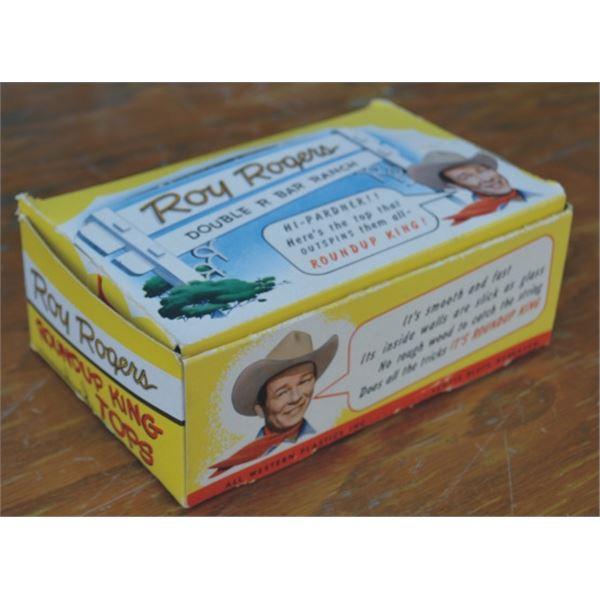 unopened box of Roy Rogers yo yos