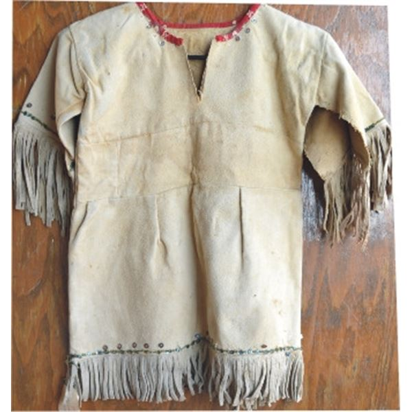 child's Indian dress with beads