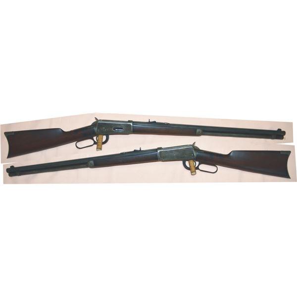 nice Winchester 1892 38.40 saddle ring carbine, mfg 1907 #397439
