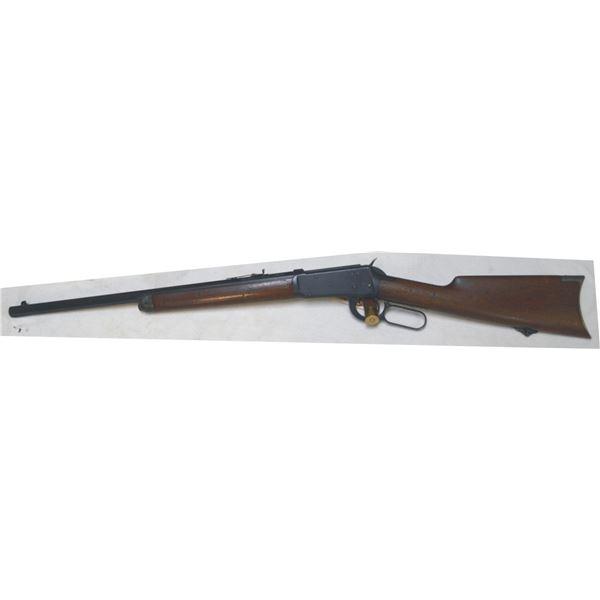 "Winchester 1894 20"" short rifle 38.55 mfg 1906, octagon barrel & button mag. #374213"