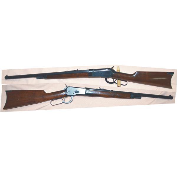 "Winchester 1892 25.20 short rifle 20"" barrel, takedwn, halfmag, mfg1908 #458348"