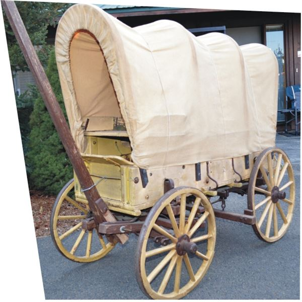 awesome quarter scale model covered wagon