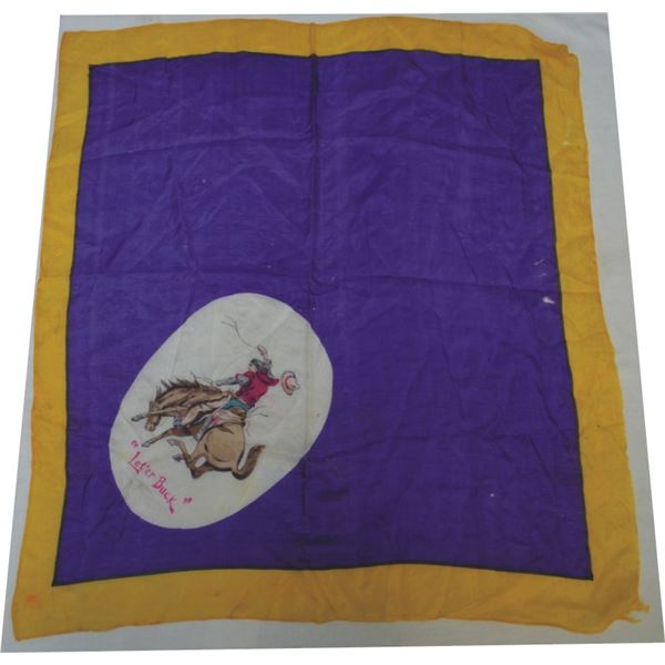 3 early silk scarves