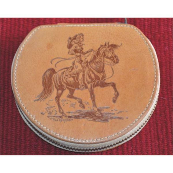 Till Goodan leather ladies compact