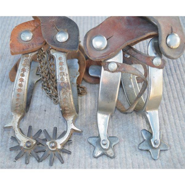 North & Judd iron spurs