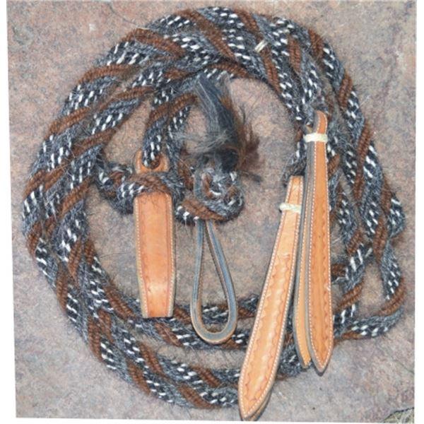 horse hair split reins and mane hair mecarte