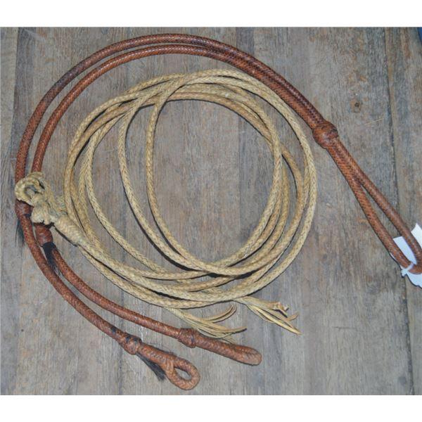 7 foot rawhide split reins