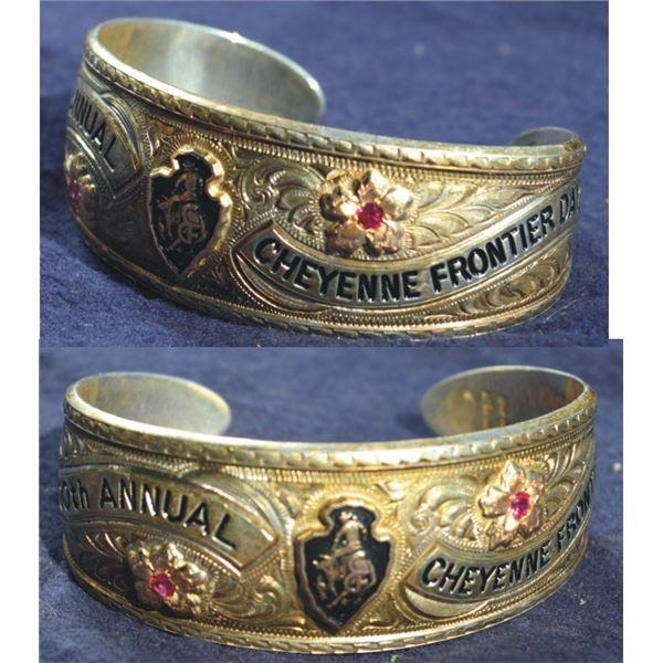 Gist 1996 Cheyenne Frontier Days bracelet