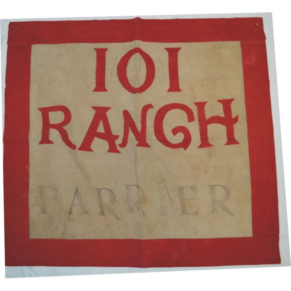 "101 Ranch farrier flag 25"" x  26"""