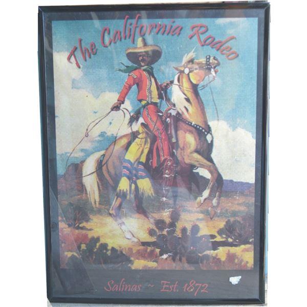 Salinas Rodeo poster