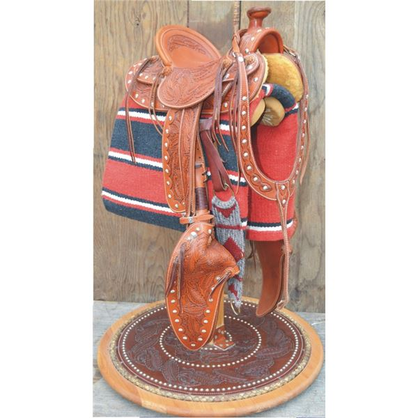 Bub Warren, Franklin Saddlery, miniature saddle