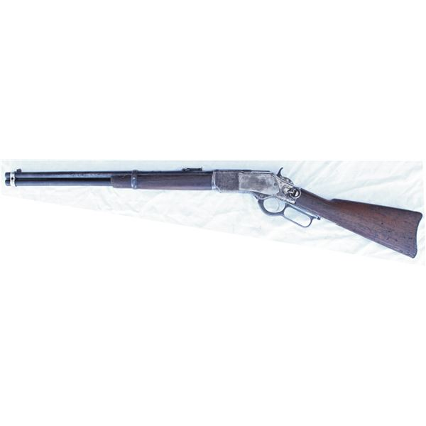 Winchester 1873 SRC .44 nickel plated #251529