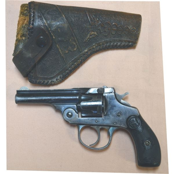 Iver Johnson Cycle Works .32 s&w 1893 side latch pistol