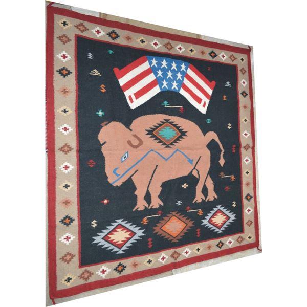 Navajo newer rug 6 feet x 6 feet
