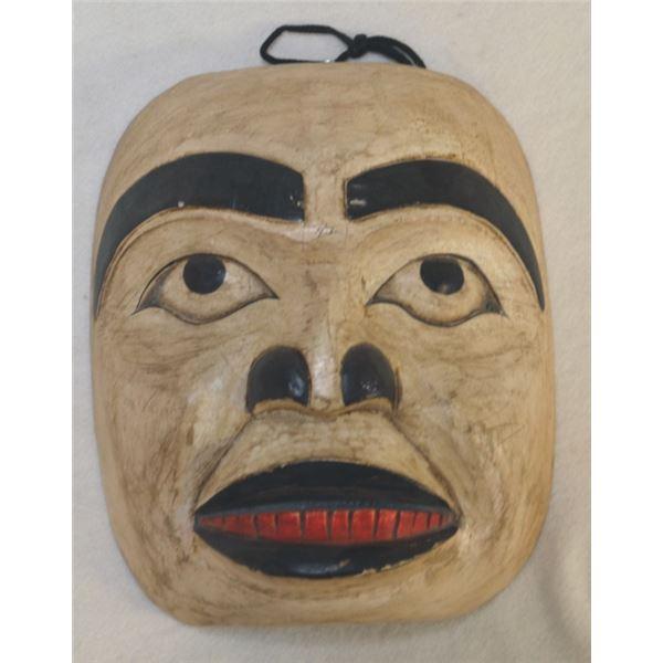 North West totem wooden craved mask