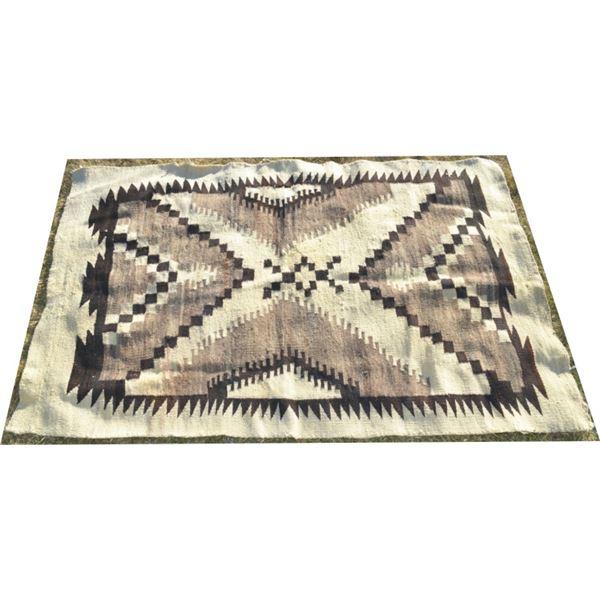 "Navajo rug 45"" x 72"""