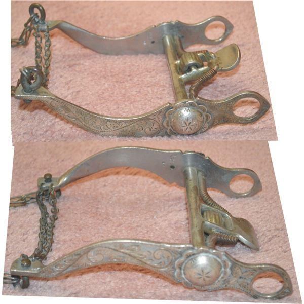 Nolte-Olsen silver overlaid spade