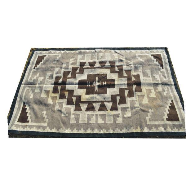 "Navajo rug 54"" x 83"""