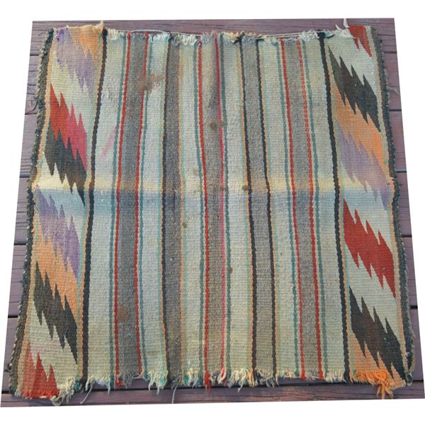 4 Navajo saddle blankets