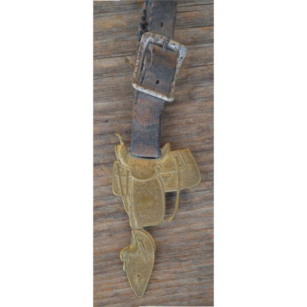 early original Hamley saddle watch fob