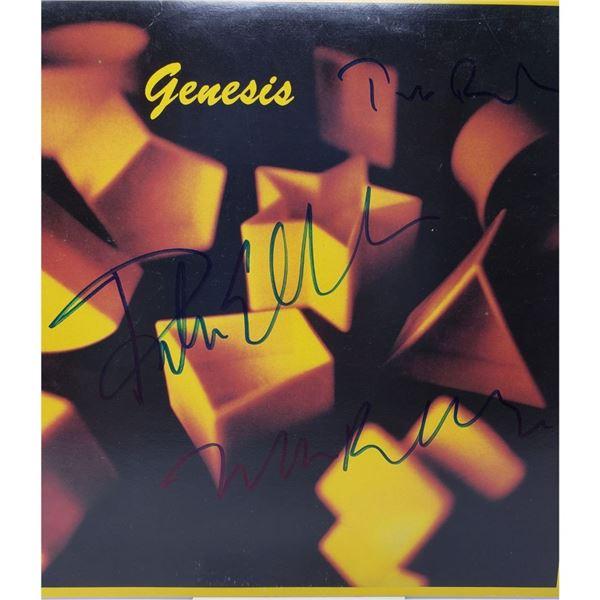 Signed Genesis Album  Cover