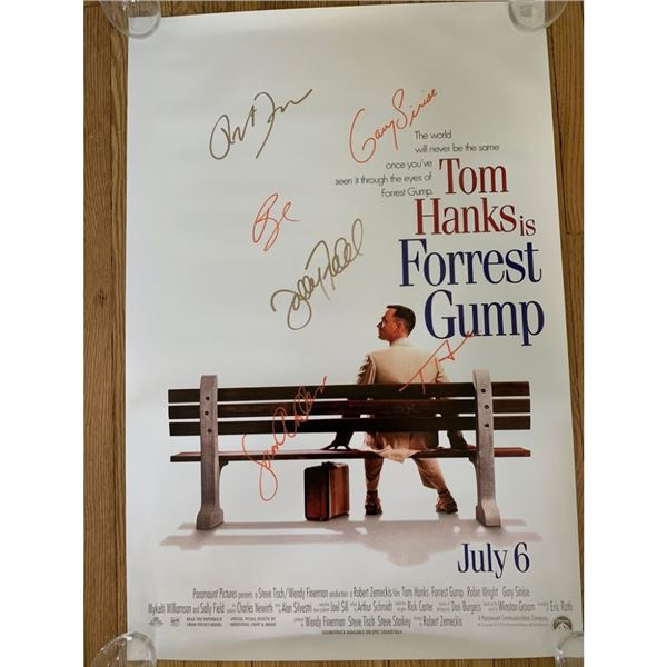 Signed Forrest Gump Movie Poster