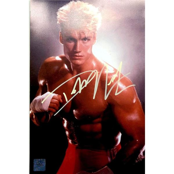 Rocky IV: Signed Ivan Drago (played by Dolph Lundgren)  8x10 Photo