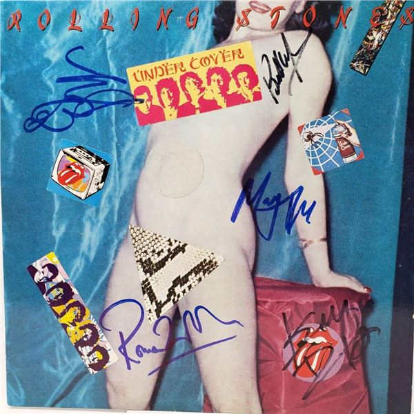 Signed The Rolling Stones, Under Cover Album Cover