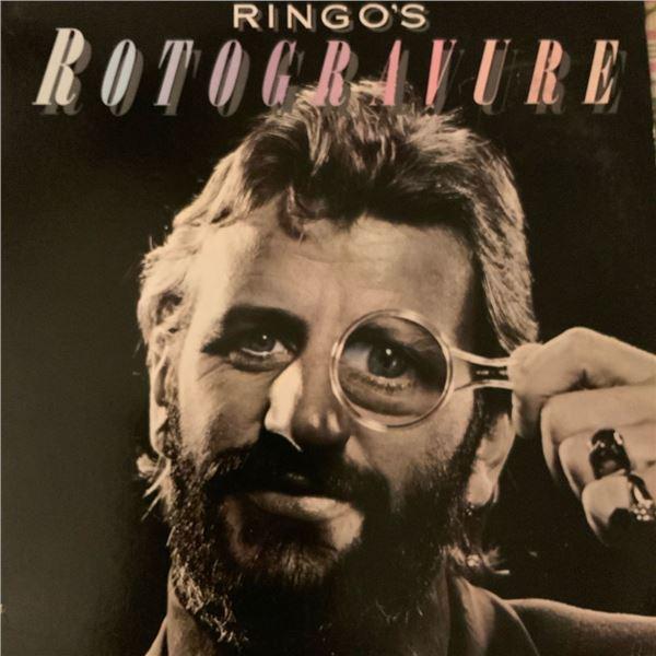 Signed Ringo Starr Rotogravure Album Cover