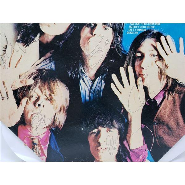 Signed Rolling Stones Through The Past, Darkly Album
