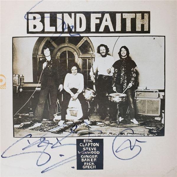 Signed Blind Faith Album Cover