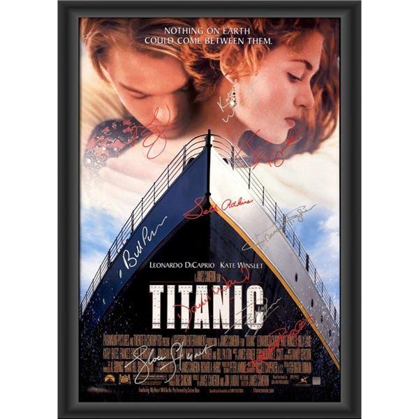 Signed Titanic Movie Poster