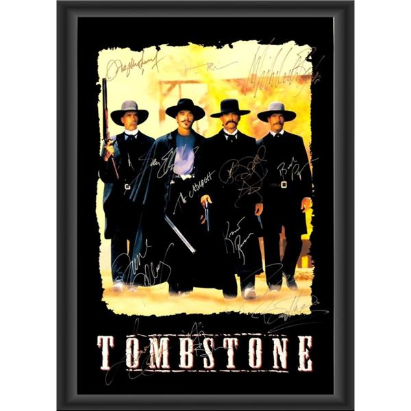 Signed Tombstone Movie Poster