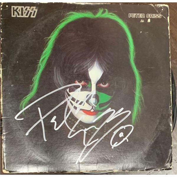 Signed Peter Criss Album, Debut Single Album Cover