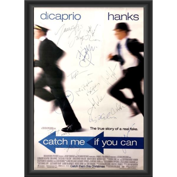 Signed Catch Me If You Can Movie Poster