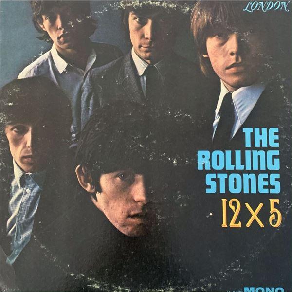 Signed Rolling Stones 12 x 5 Album Cover