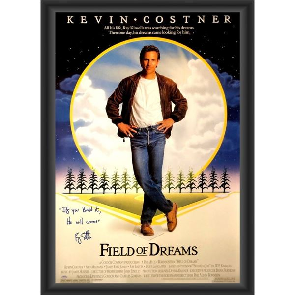 Signed Field Of Dreams Movie Poster