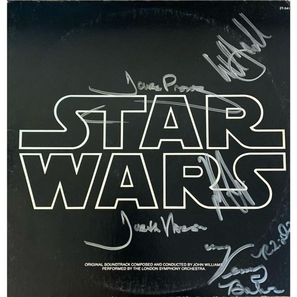 Signed Star Wars Original Soundtrack